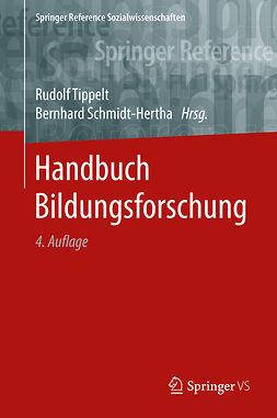 Schmidt-Hertha, Bernhard - Handbuch Bildungsforschung, ebook
