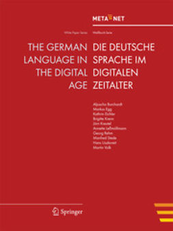 Rehm, Georg - The German Language in the Digital Age, ebook