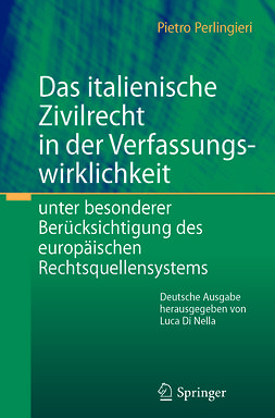 Nella, Luca Di - Das italienische Zivilrecht in der Verfassungswirklichkeit, ebook