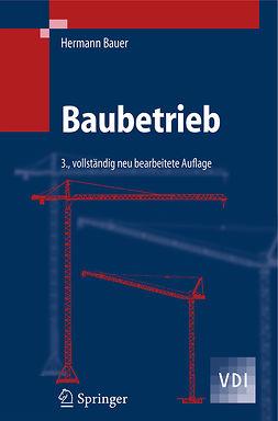 Bauer, Hermann - Baubetrieb, e-kirja