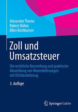 Böhm, Robert - Zoll und Umsatzsteuer, ebook
