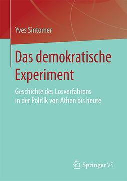 Sintomer, Yves - Das demokratische Experiment, ebook