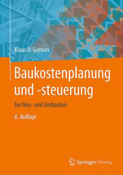 Siemon, Klaus D. - Baukostenplanung und -steuerung, ebook
