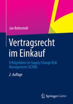 Bohnstedt, Jan - Vertragsrecht im Einkauf, ebook
