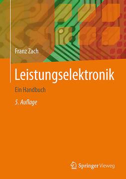 Zach, Franz - Leistungselektronik, e-bok