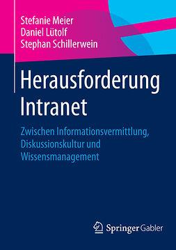 Lütolf, Daniel - Herausforderung Intranet, ebook