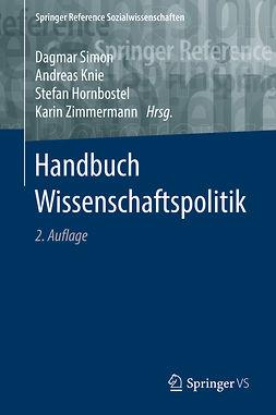 Hornbostel, Stefan - Handbuch Wissenschaftspolitik, ebook