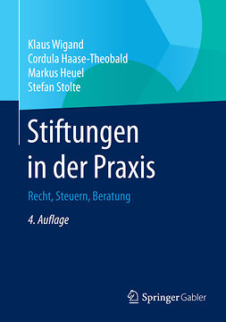 Haase-Theobald, Cordula - Stiftungen in der Praxis, ebook