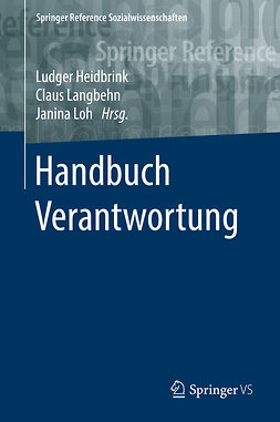 Heidbrink, Ludger - Handbuch Verantwortung, ebook
