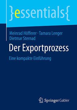 Höfferer, Meinrad - Der Exportprozess, ebook
