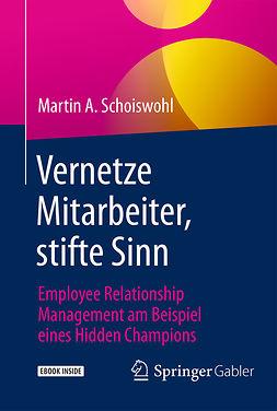 Schoiswohl, Martin A. - Vernetze Mitarbeiter, stifte Sinn, e-kirja