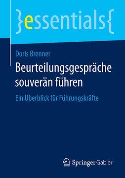 Brenner, Doris - Beurteilungsgespräche souverän führen, e-kirja
