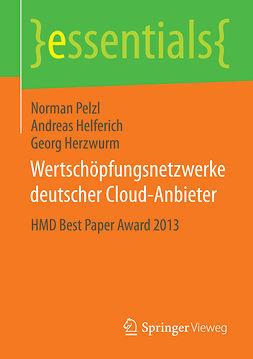 Helferich, Andreas - Wertschöpfungsnetzwerke deutscher Cloud-Anbieter, ebook
