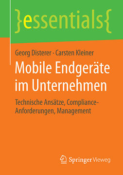 Disterer, Georg - Mobile Endgeräte im Unternehmen, ebook