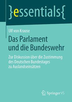 Krause, Ulf - Das Parlament und die Bundeswehr, ebook