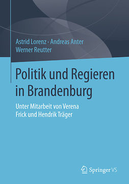 Anter, Andreas - Politik und Regieren in Brandenburg, ebook