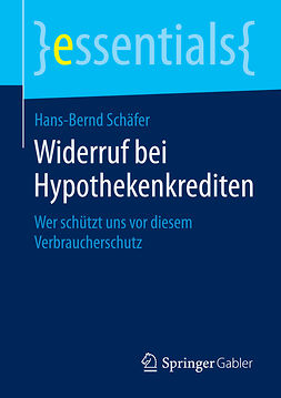 Schäfer, Hans-Bernd - Widerruf bei Hypothekenkrediten, ebook
