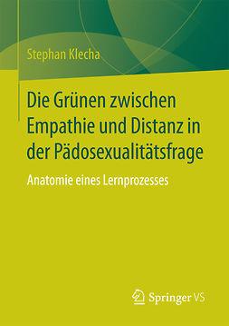 Klecha, Stephan - Die Grünen zwischen Empathie und Distanz in der Pädosexualitätsfrage, ebook