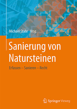 Stahr, Michael - Sanierung von Natursteinen, ebook