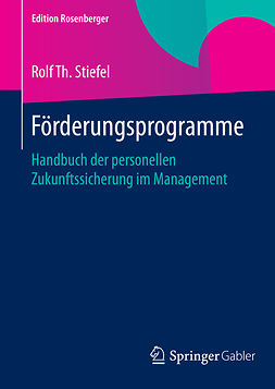 Stiefel, Rolf Th. - Förderungsprogramme, ebook