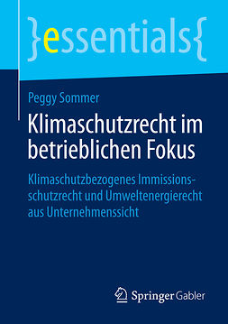 Sommer, Peggy - Klimaschutzrecht im betrieblichen Fokus, ebook