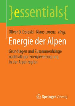 Doleski, Oliver D. - Energie der Alpen, ebook