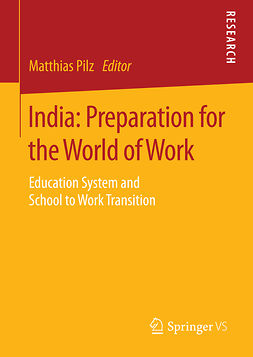 Pilz, Matthias - India: Preparation for the World of Work, e-bok