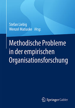 Liebig, Stefan - Methodische Probleme in der empirischen Organisationsforschung, ebook