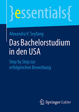 Seyfang, Alexandra V. - Das Bachelorstudium in den USA, ebook