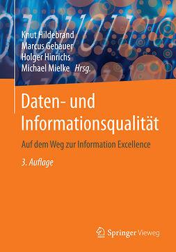 Gebauer, Marcus - Daten- und Informationsqualität, ebook