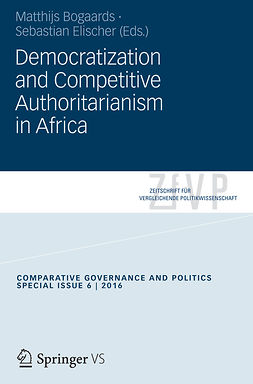 Bogaards, Matthijs - Democratization and Competitive Authoritarianism in Africa, ebook