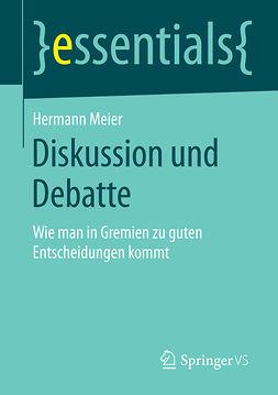 Meier, Hermann - Diskussion und Debatte, ebook