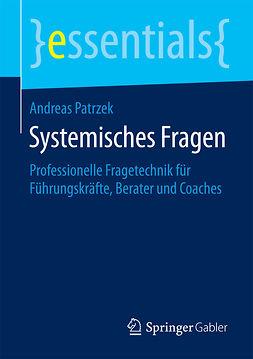 Patrzek, Andreas - Systemisches Fragen, ebook