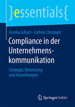 Christoph, Cathrin - Compliance in der Unternehmenskommunikation, ebook