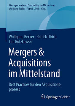 Becker, Wolfgang - Mergers & Acquisitions im Mittelstand, ebook