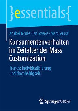 Jerusel, Marc - Konsumentenverhalten im Zeitalter der Mass Customization, ebook
