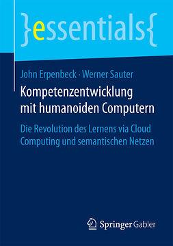 Erpenbeck, John - Kompetenzentwicklung mit humanoiden Computern, ebook