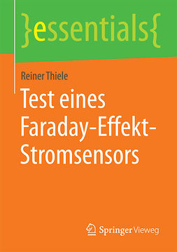 Thiele, Reiner - Test eines Faraday-Effekt-Stromsensors, ebook