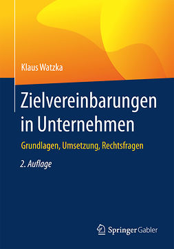 Watzka, Klaus - Zielvereinbarungen in Unternehmen, e-bok