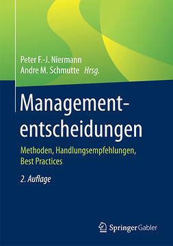 Niermann, Peter F.-J. - Managemententscheidungen, e-bok