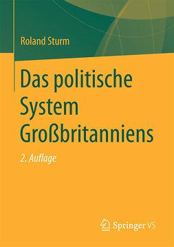 Sturm, Roland - Das politische System Großbritanniens, ebook