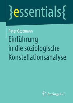 Gostmann, Peter - Einführung in die soziologische Konstellationsanalyse, ebook