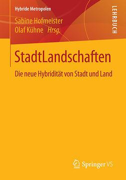 Hofmeister, Sabine - StadtLandschaften, e-bok