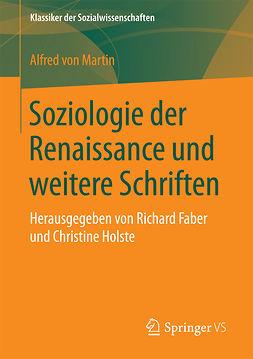 Faber, Richard - Soziologie der Renaissance und weitere Schriften, ebook