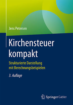 Petersen, Jens - Kirchensteuer kompakt, ebook