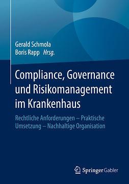 Rapp, Boris - Compliance, Governance und Risikomanagement im Krankenhaus, ebook