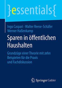 Caspari, Ingo - Sparen in öffentlichen Haushalten, ebook