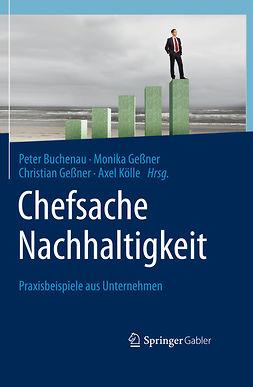 Buchenau, Peter - Chefsache Nachhaltigkeit, e-kirja