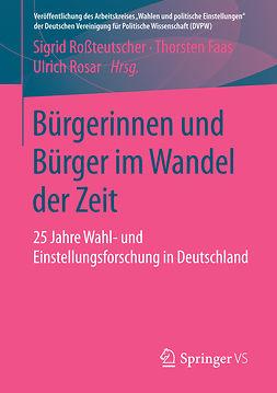 Faas, Thorsten - Bürgerinnen und Bürger im Wandel der Zeit, ebook