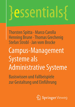 Brocke, Jan vom - Campus-Management Systeme als Administrative Systeme, e-kirja